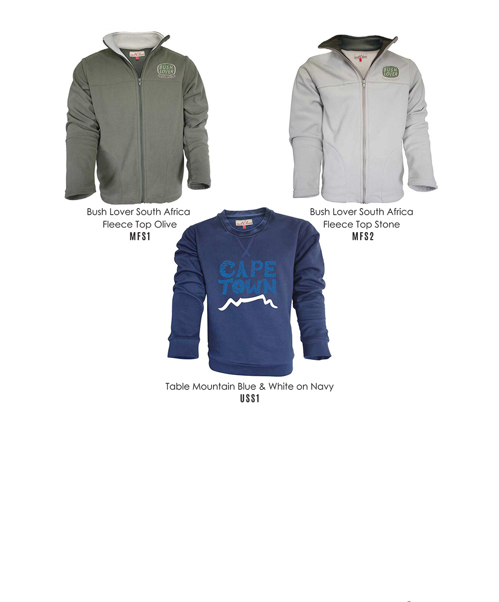 Mens Fleece Tops & Sweater Tops